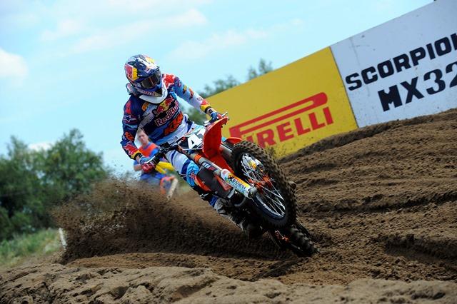 Pirelli SCORPION™ MX SOFT 410 protagonista sulla sabbia belga di Lommel