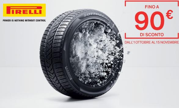 [Pneumatici Auto] - Fino a 90€ di sconto con PIRELLI!