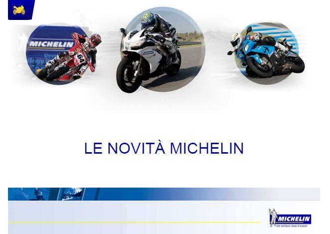 MICHELIN - Pneumatici MOTO per strada e pista
