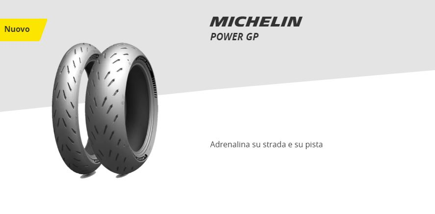 Nuovo MICHELIN POWER GP