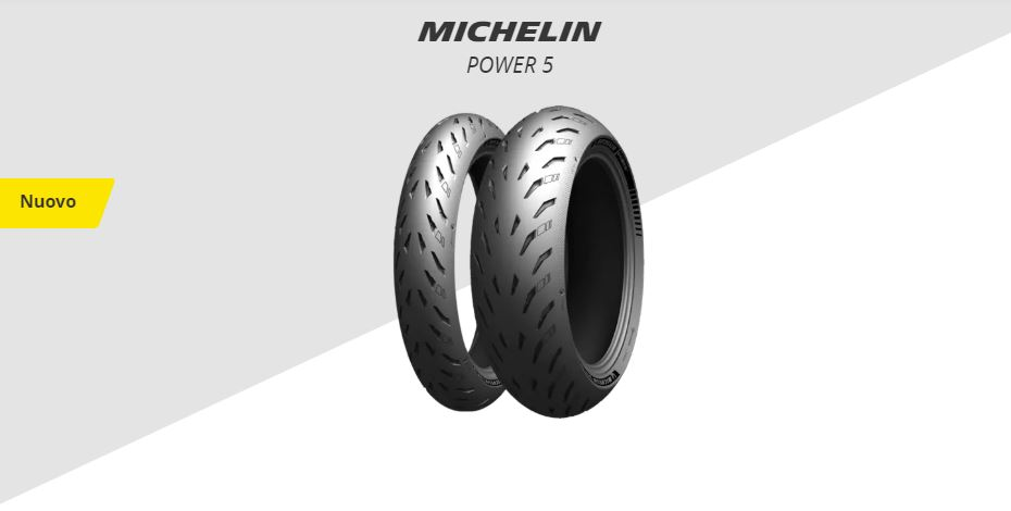 Nuovo MICHELIN POWER 5
