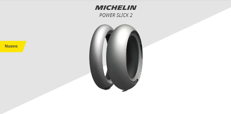 Nuovo MICHELIN POWER SLICK 2