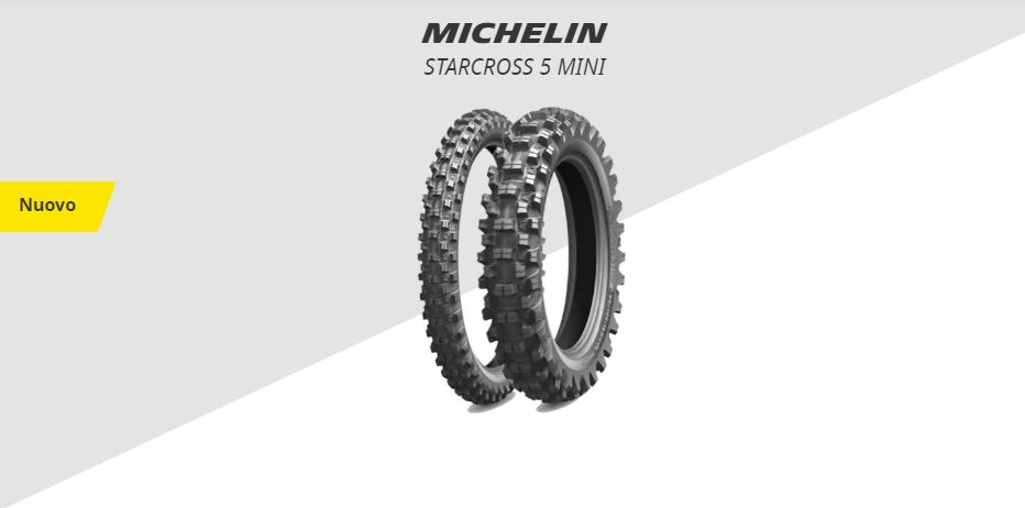 Nuovo MICHELIN STARCROSS 5 MINI